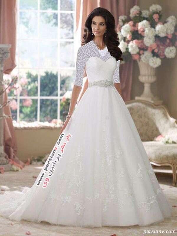 لباس عروس برند دیوید توترا
