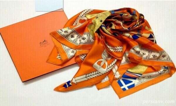 مدل روسری های جدید برند هرمس