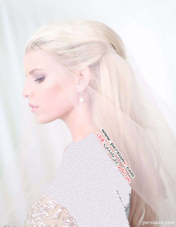 لباس عروس جسیکا سیمپسون