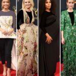 پوشش ستاره های باردار مراسم امی