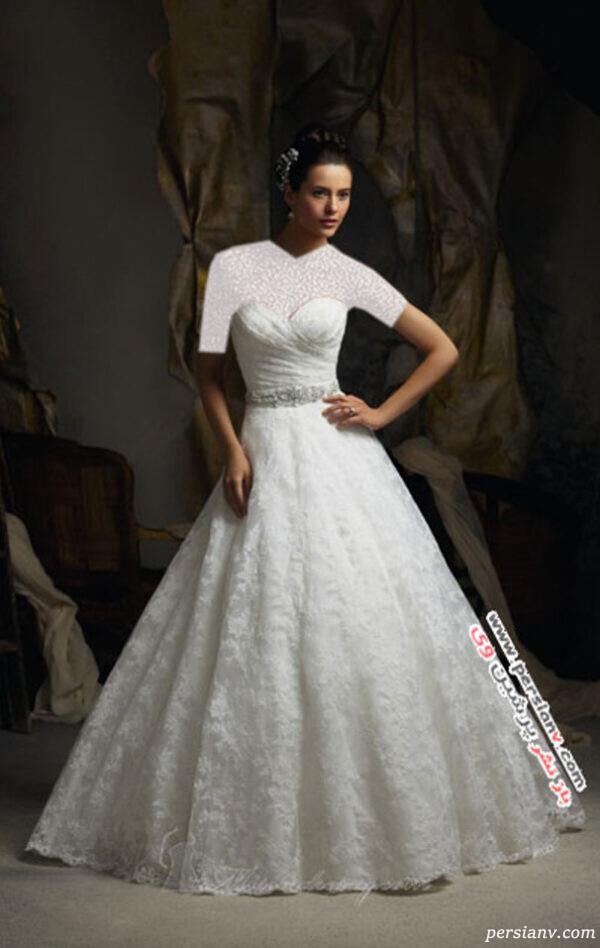 لباس عروس های دکلته