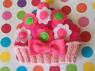 کلاه های بافتنی زیبا