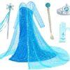 رونمایی از لباس عروس السا شخصیت زیبای انیمیشن یخزده +عکس