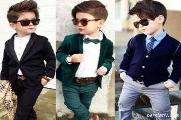 مدل لباس های بسیار شیک پسرانه D&G در پاییز و زمستان