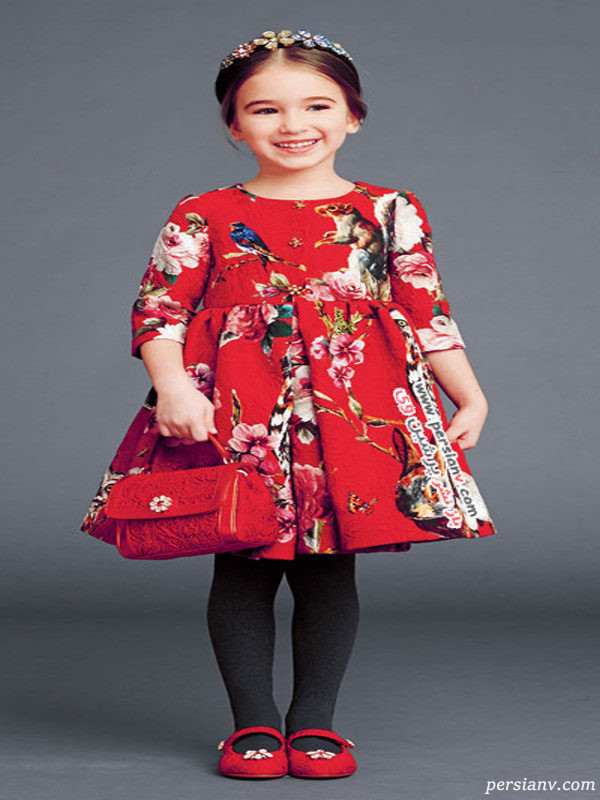مدل لباس دخترانه دولچه گابانا