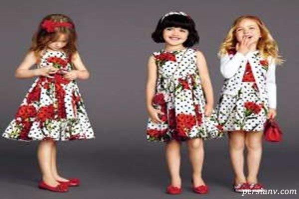 مدل لباس های زیبای دخترانه دولچه و گابانا در پاییز و زمستان