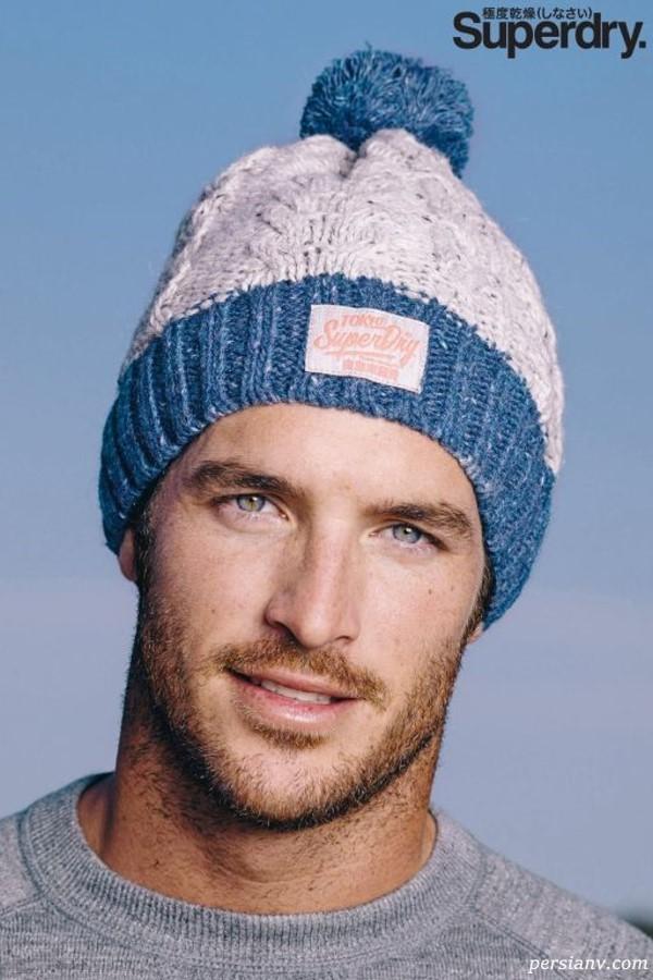 کلاه و دستکش مردانه