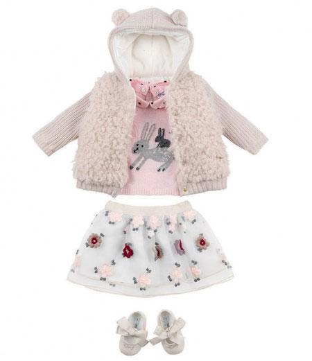 ست لباس کودک پاییزی