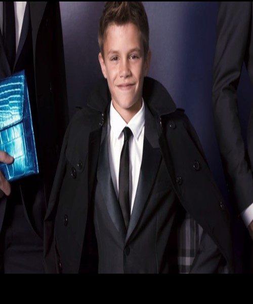 ستاره ۱۲ ساله مد، پسر دیوید و ویکتوریا بکهام / یکی از مدل های اصلی در تبلیغات لباس