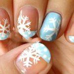 ایده های زمستانه برای طراحی ناخن