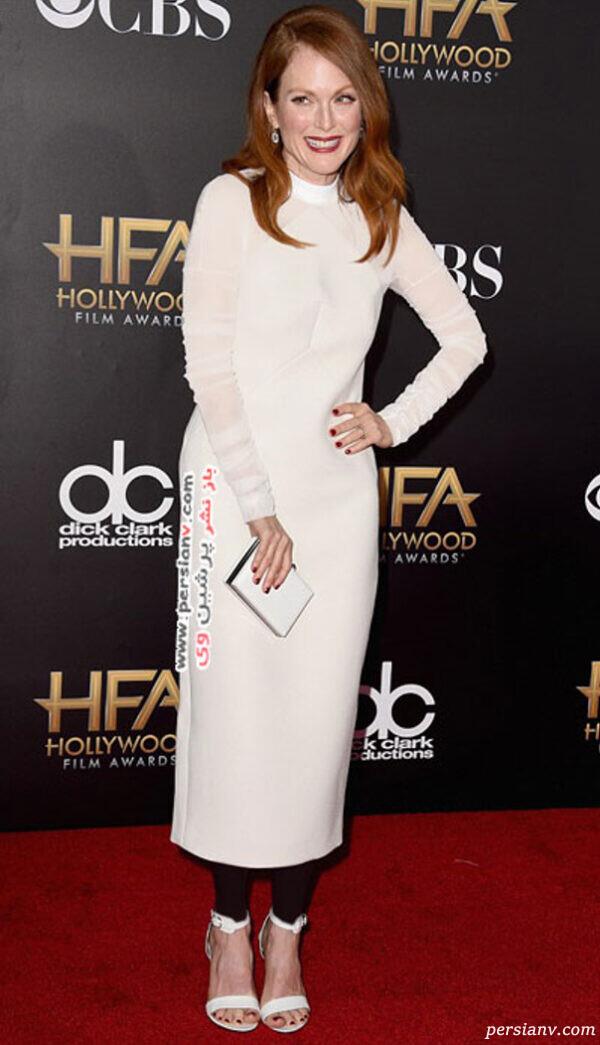 پوشش ستاره ها در مراسم اهدای جوایز فیلم