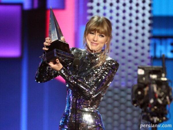 پوشش ستاره های مشهور در مراسم AMA