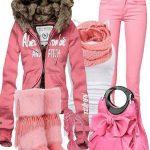 دختر مد پوش زمستان باشید!