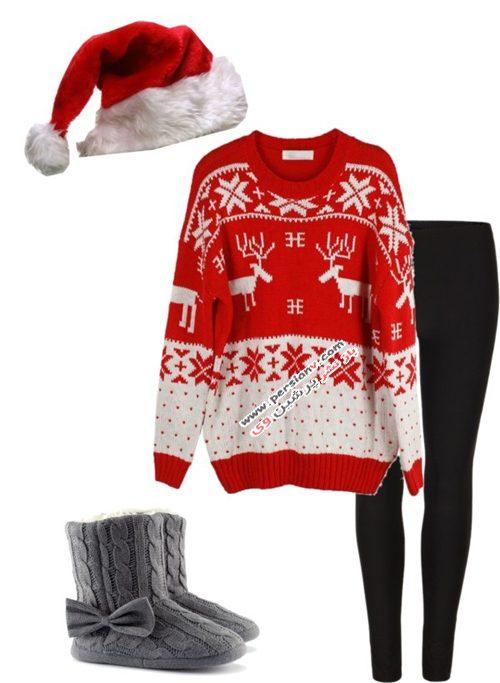 ست لباس کریسمس