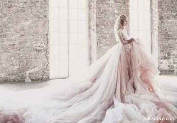 مدل لباس عروس های چشمگیر برند عربی دارسارا