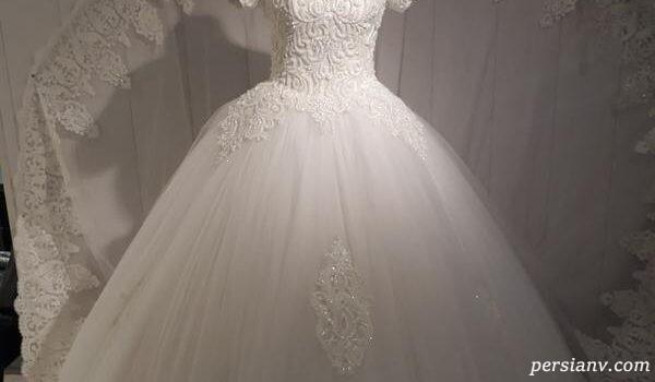 مدل لباس عروس های زیبا و کریستالی برند دارسارا