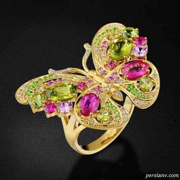 مدل هایی از انگشترهای زیبا و خاص با طرح جالب