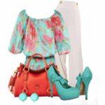 ست کردن لباس مجلسی زنانه