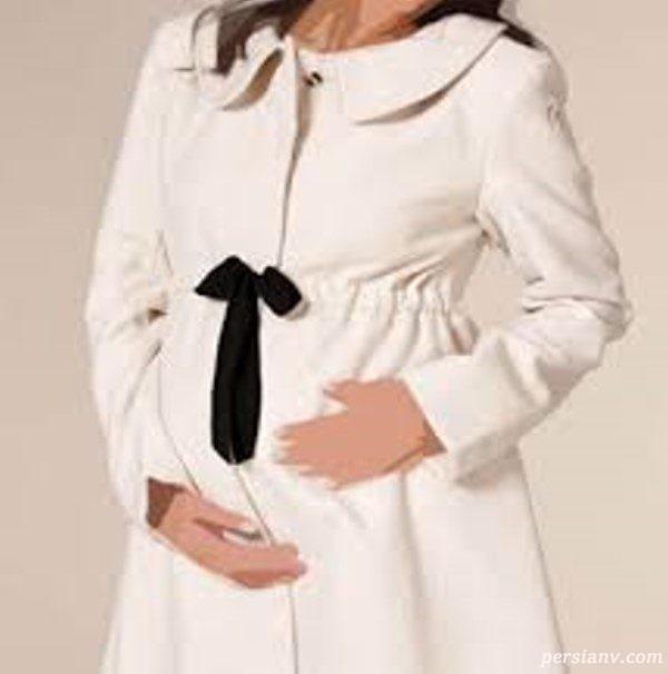 مدل کت و پالتوهای زمستانی برای خانم های باردار +عکس