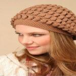 مدل کلاه بافتنی دخترانه جدید + تصاویر