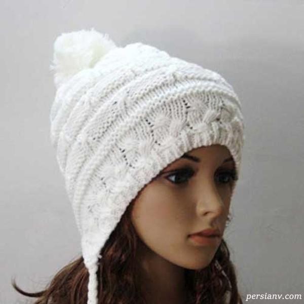 کلاه های بافت زنانه