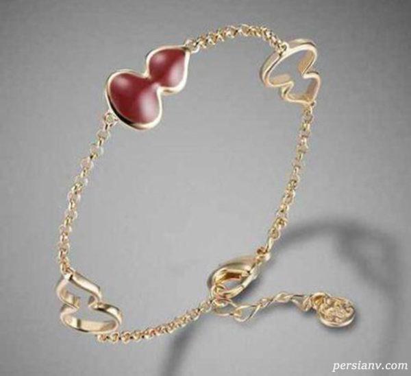 جدیدترین مدل های دستبند طلا و جواهرات سال