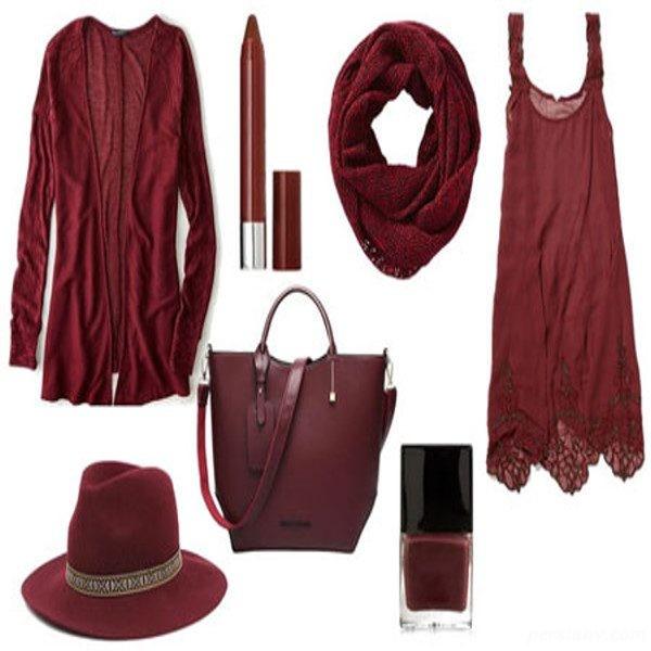 ست لباس زنانه به رنگ سال
