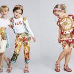 مدل لباس های دخترانه دولچه و گابانا در بهار و تابستان سری ۲