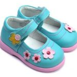 کفش های عروسکی مخصوص دختران کوچولو
