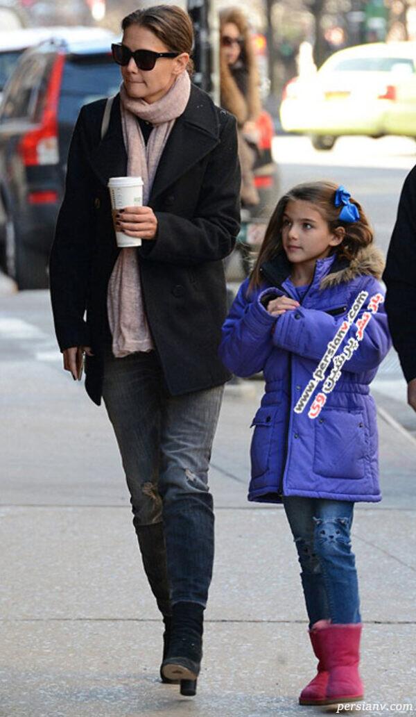 دختر تام کروز سوری