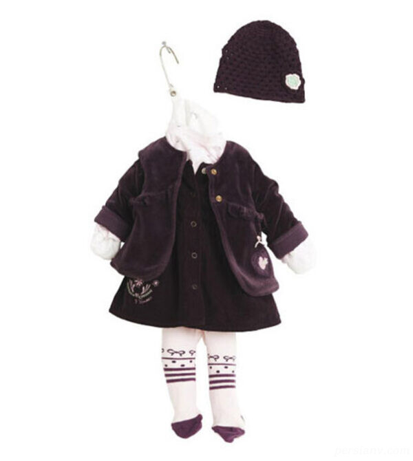 لباس نوزادی بهاره