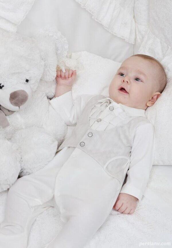 لباس نوزادی سبک خارجی