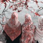 شالهای زیبا و جذاب برای روزهای بهاری