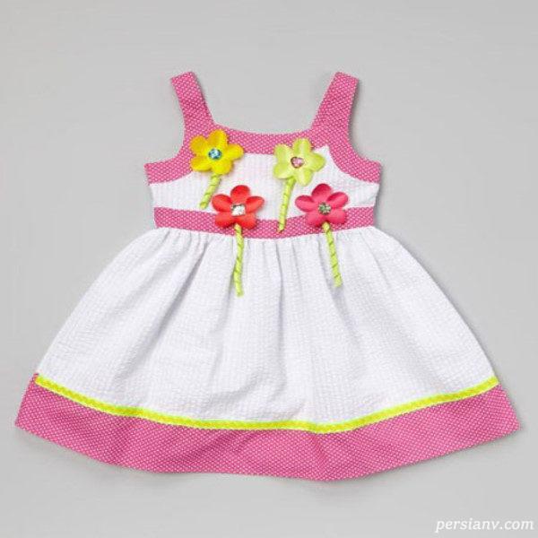 لباس ساده تابستانی دخترانه