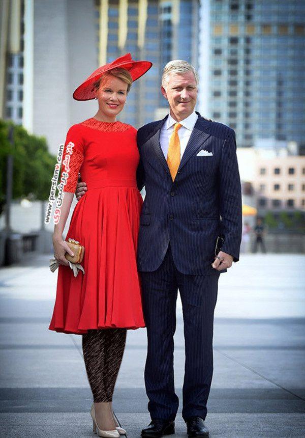 ملکه بلژیک کیت میدلتون