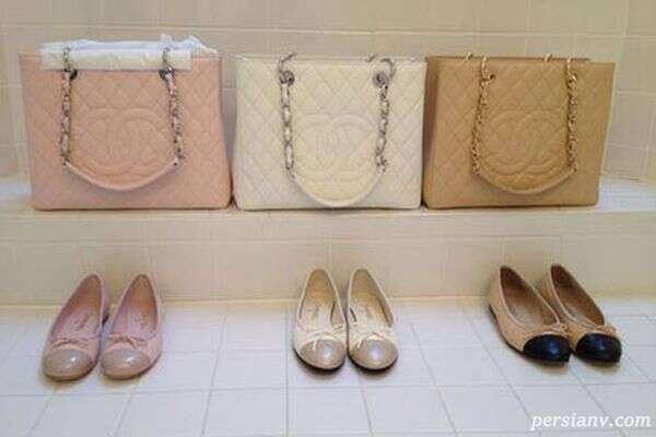 جدید ترین ست کیف و کفش