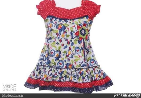 لباس های بهاری دخترانه