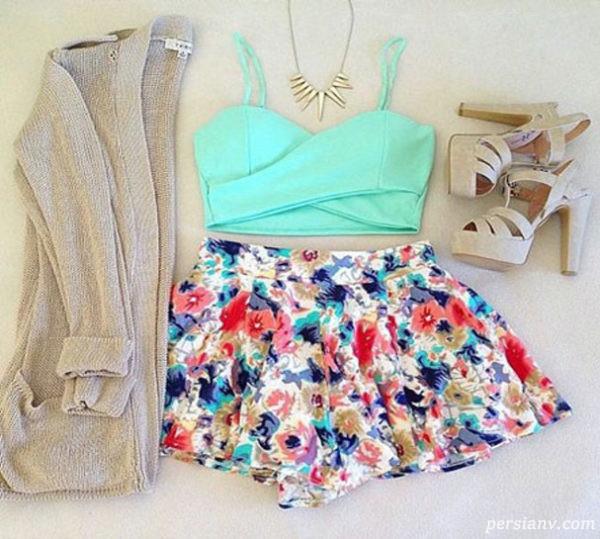 مدل لباس های تابستانی