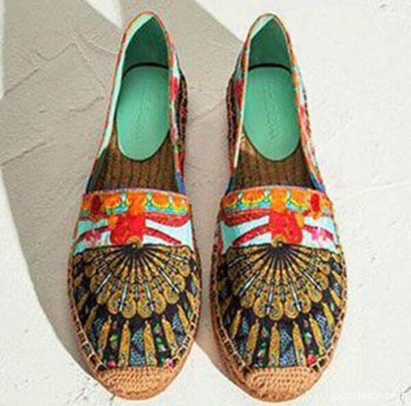 کفش های سنتی زنانه