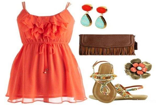 مدل های شیک از ست لباس برای اواخر تابستان
