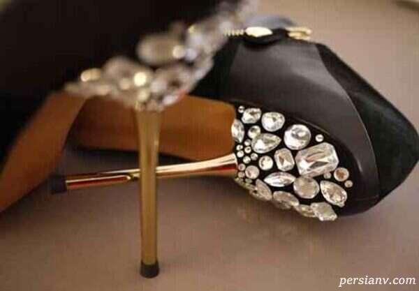 تبدیل کفش ساده به مجلسی