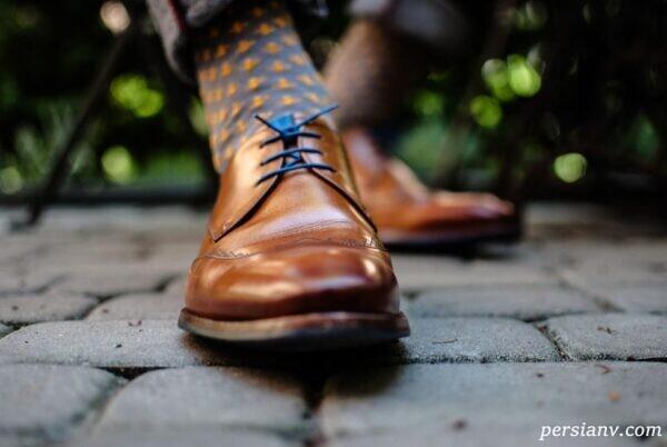 تمیز کردن کفش