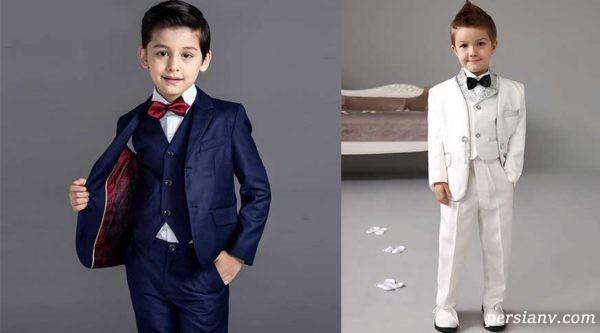 جدید ترین مدل های کت شلوار پسر بچه