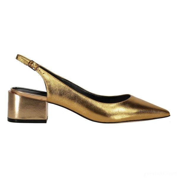 کفش مجلسی زنانه طلایی