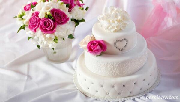 کیک های عروسی شیک و جالب