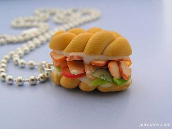 گوشواره های فانتزی دخترانه به شکل خوراکی ها!