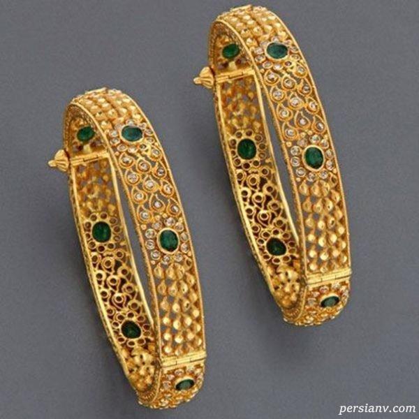 دستبند دخترانه طلا