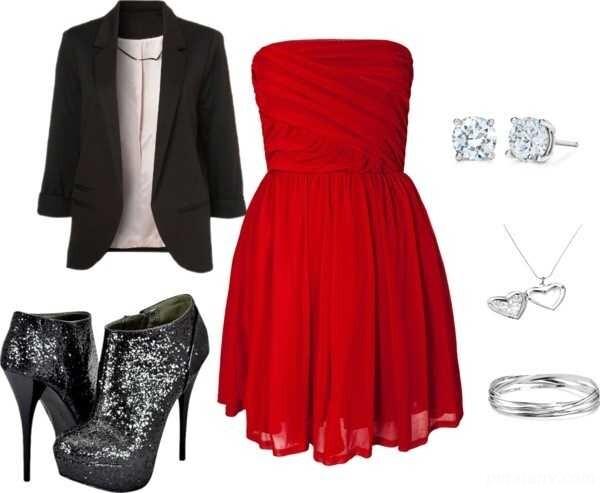 ست لباس مجلسی قرمز مخصوص دختران پرانرژی!