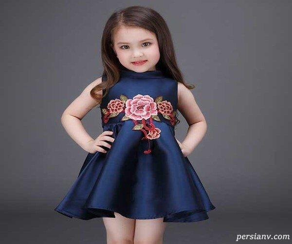 مدلهای زیبای سارافون دخترانه عروسکی !+ عکس