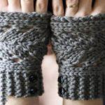مدل ساق دست های بسیار زیبای بافتنی برای فصل سرما + عکس